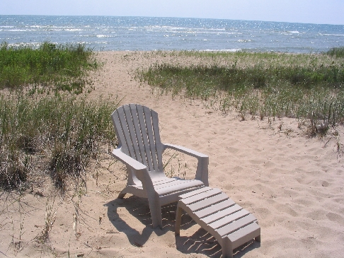 Picture of the Beach at Lake Huron